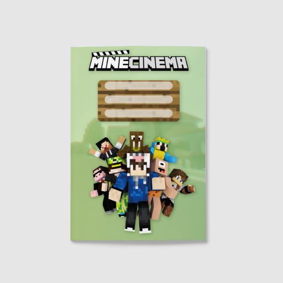 MineCinema füzet, sima (A5)