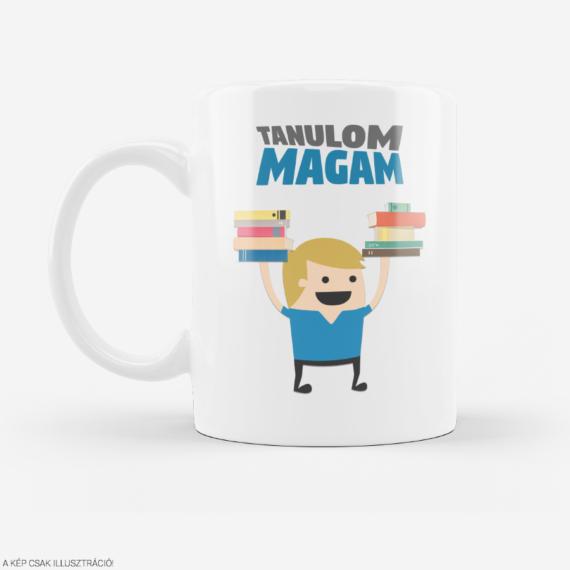 """Tanulom Magam """"logo"""" bögre"""
